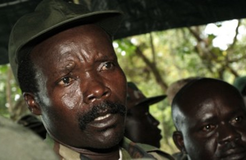 Leader of the Lord's Resistance Army Joseph Kony R 370 (photo credit: REUTERS)