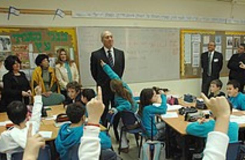 olmert teacher 224 88 (photo credit: GPO)