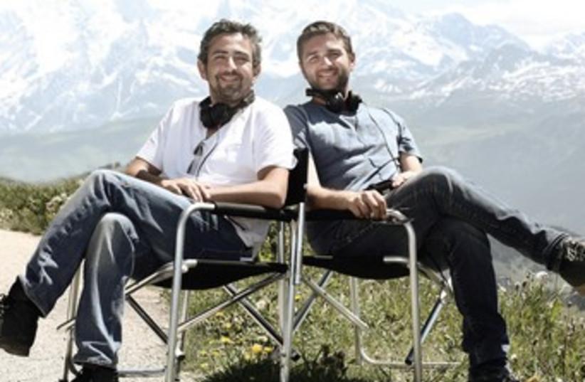 Eric Toledano (left) and Olivier Nakache 370 (photo credit: Courtesy/PR)