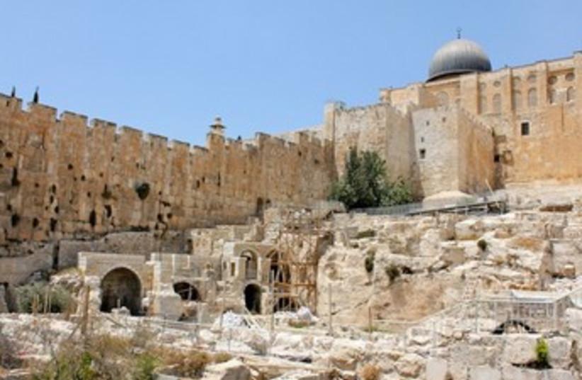 Jerusalem Archaeological Park and Davidson Center 390 (photo credit: iTRAVELJERUSALEM)