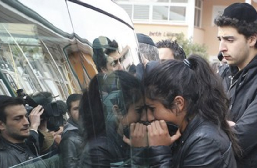 Mourning the Toulouse shootings 370 (photo credit: REUTERS)
