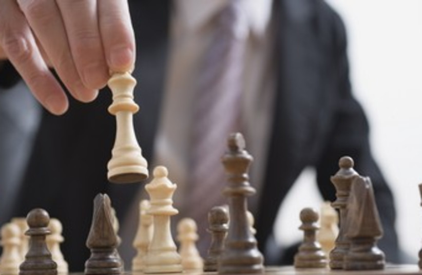 Chess 370 (photo credit: Thinkstock/Imagebank)