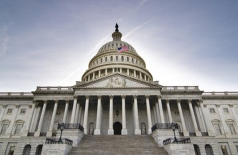 United States Capitol Building Congress 390 (photo credit: Thinkstock/Imagebank)