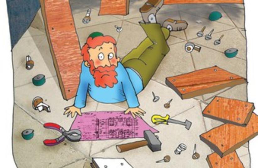Passover building cartoon 370 (photo credit: Courtesy)