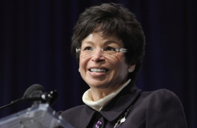 Valerie Jarrett_370 (photo credit: Reuters)