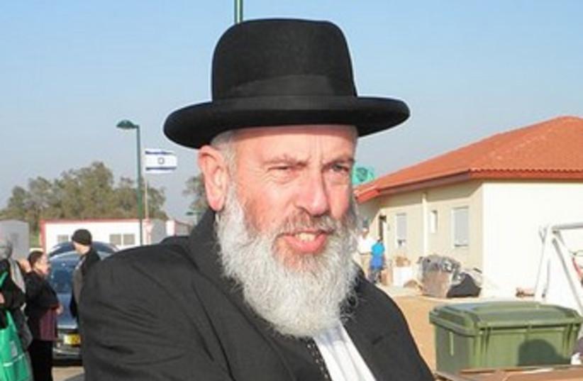 Rabbi Eliezer Igra 370 (photo credit: Ariel Palmon / Wikimedia Commons CC)