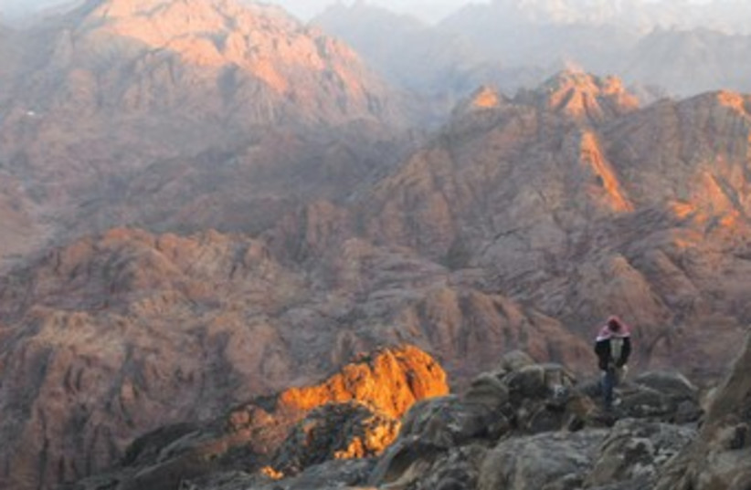 Sinai mountains, Beduin_370 (photo credit: Reuters)