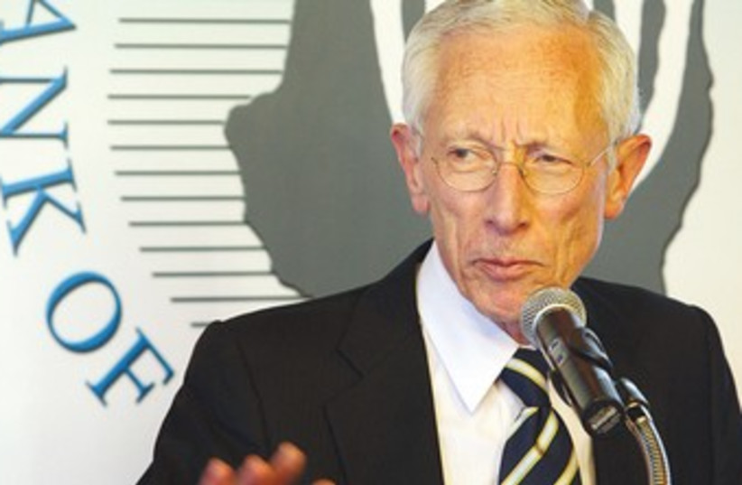 Bank of Israel Governor Stanley Fischer 370 (photo credit: Sasson Tiram)