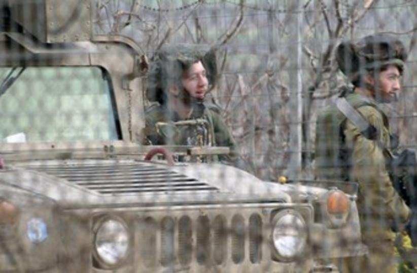 Israel-Lebanon border 370 (photo credit: REUTERS/Karamallah Daher)