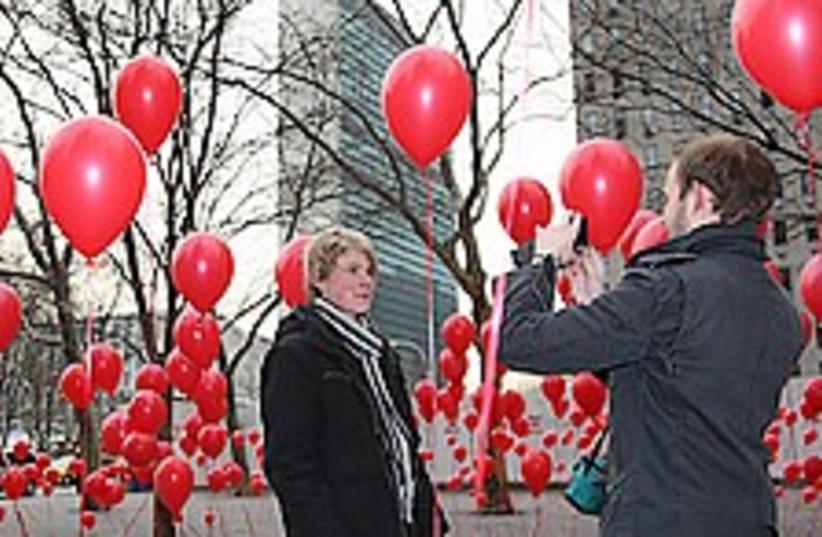 UN balloons 224.88 (photo credit: Courtesy)