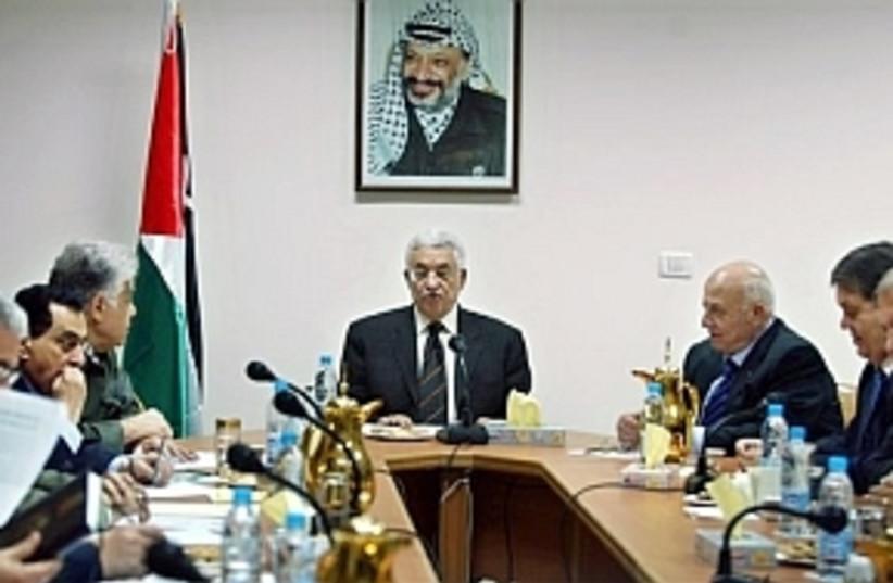abbas, cabinet 298 AP (photo credit: AP [file])