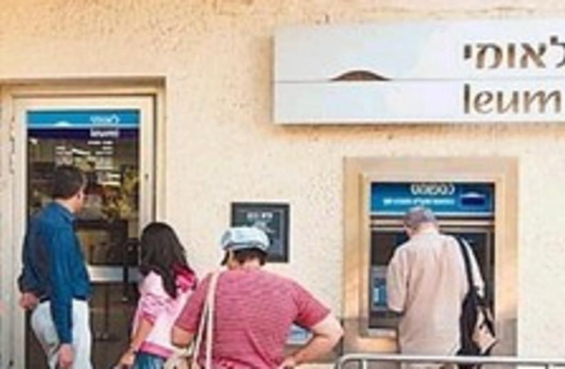 bank leumi 224.88 (photo credit: Ariel Jerozolimski [file])