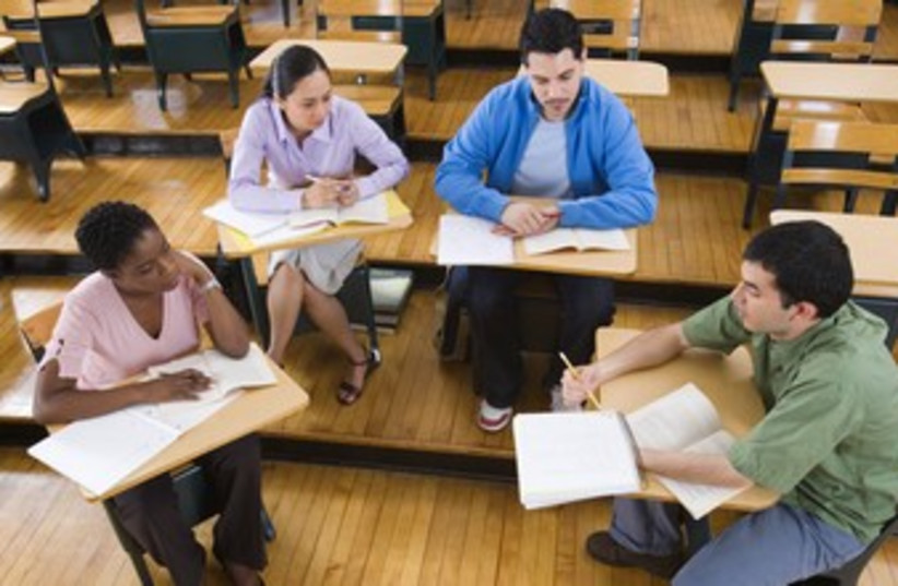 school college classroom discussion learning 370 (photo credit: Thinkstock)
