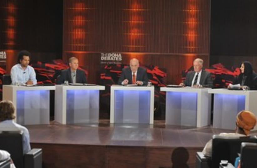 Doha Debates_370 (photo credit: Courtesy Soroka University Medical Center)