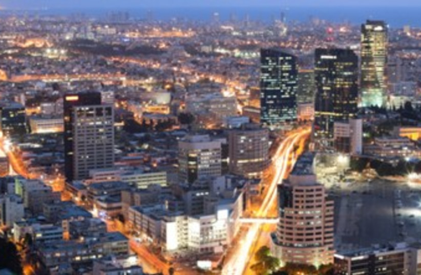 Tel Aviv skyline 370 (photo credit: Thinkstock/Imagebank)