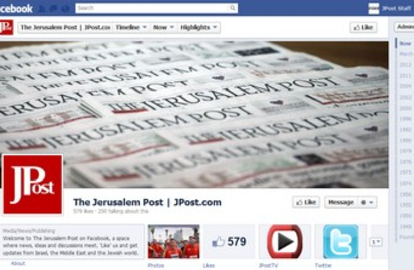 The Jerusalem Post's Facebook Timeline 370 (photo credit: Screenshot)