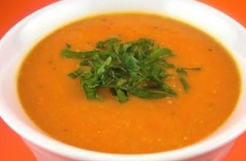 Ginger-Carrot Soup 370 (photo credit: kahakaicooking.com)