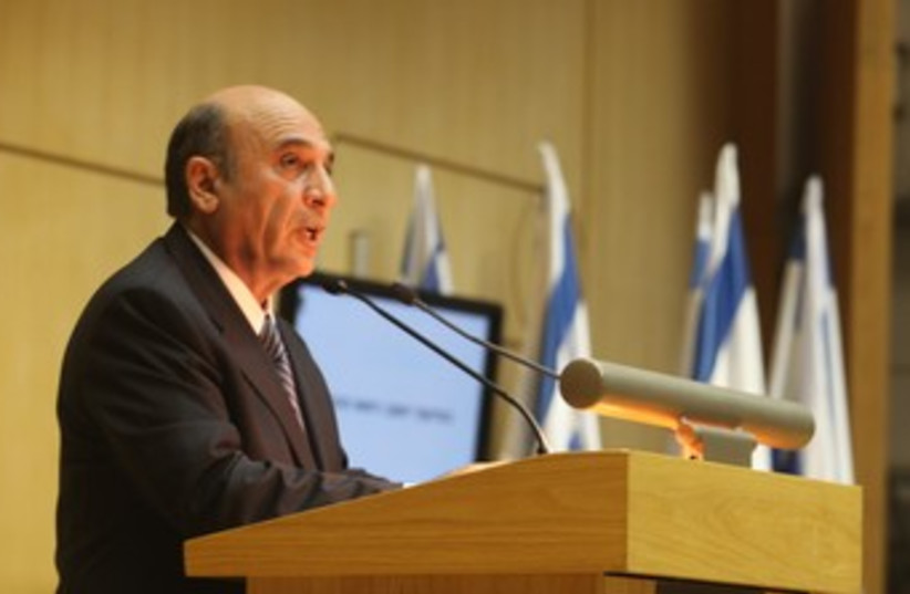 Mofaz speaks at Knesset 370 (photo credit: Knesset Spokesman)