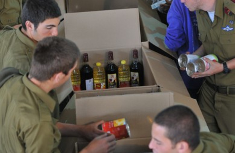 Giving something back 370 (photo credit: Meir Alfassi)