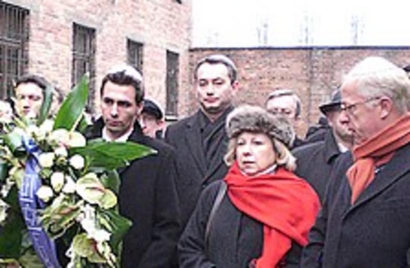 Auschwitz ceremony 224 (photo credit: Courtesy)