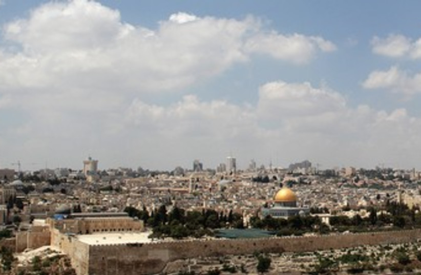 Jerusalem skyline 370  (photo credit: Marc Israel Sellem)
