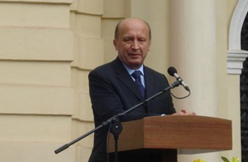 Lithuanian Prime Minister Andrius Kubilius 370 (photo credit: Wikimedia)