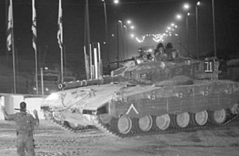 idf tank 298 AJ (photo credit: Ariel Jerozolimski)
