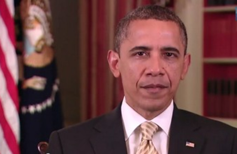 Obama gives annual Passover holiday message 370 (photo credit: YouTube Screenshot)