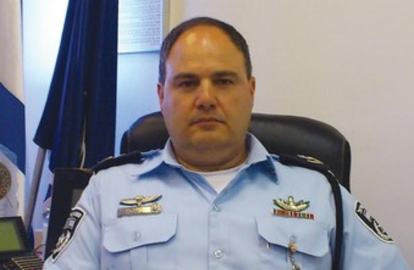 Police Central District chief Bentsi Sao 370 (photo credit: Yaakov Lappin)