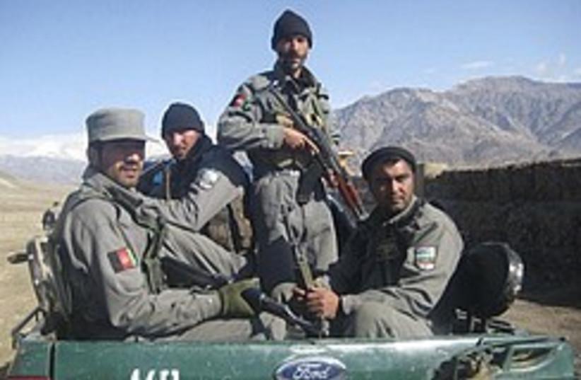 Afghan policemen 248.88 (photo credit: AP)