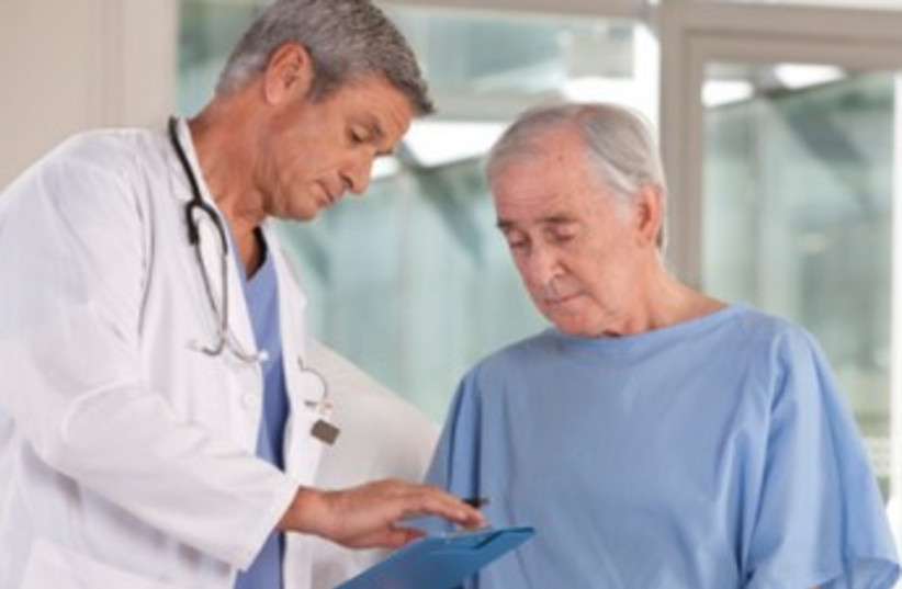 elderly patient_370  (photo credit: Thinkstock/Imagebank)