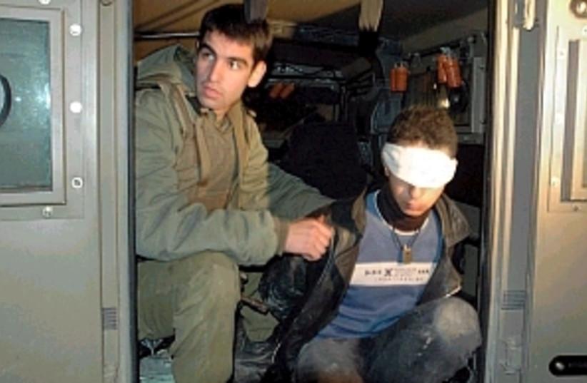 palestinian arrest298.88 (photo credit: AP [file])