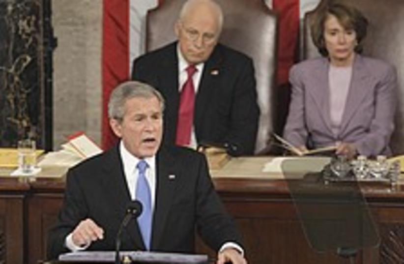Bush address 224.88 (photo credit: AP)