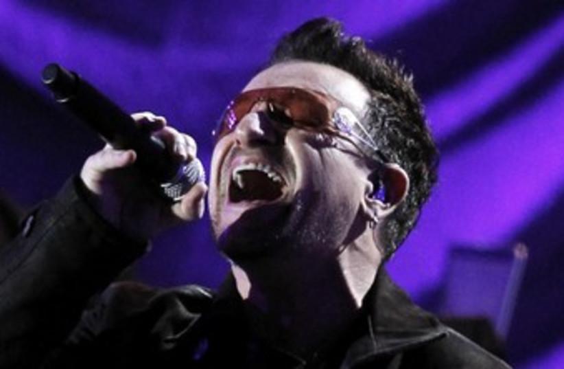 U2 lead singer Bono 370 (photo credit: Mario Anzuoni / Reuters)