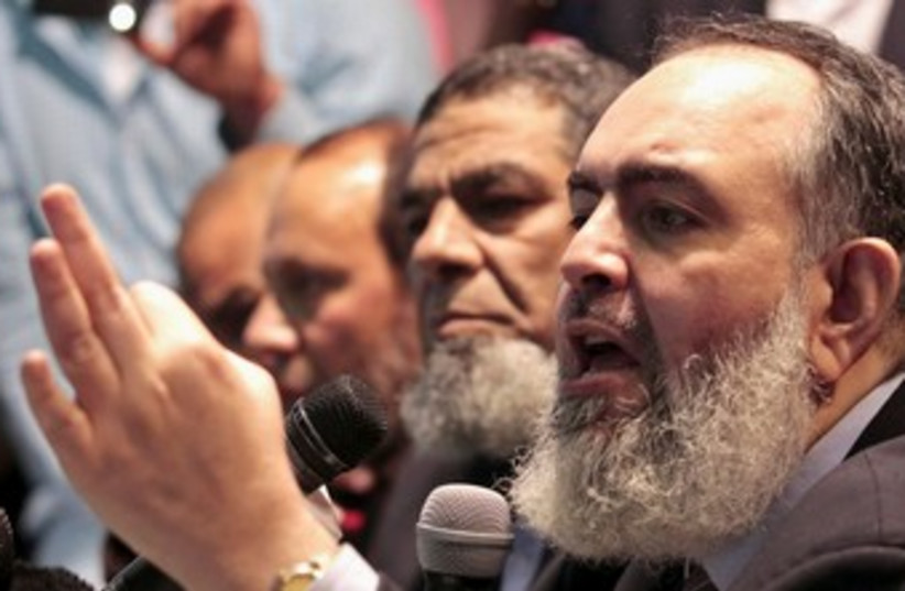 Egyptian Salafist Hazem Salah Abu Ismail 370 (photo credit: REUTERS/Mohamed Abd El Ghany )