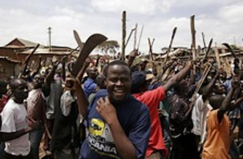 kenya machete 224.88 ap (photo credit: AP)