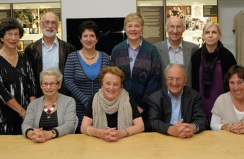 Board of New Zealand's Holocaust Center_370 (photo credit: Woolf)