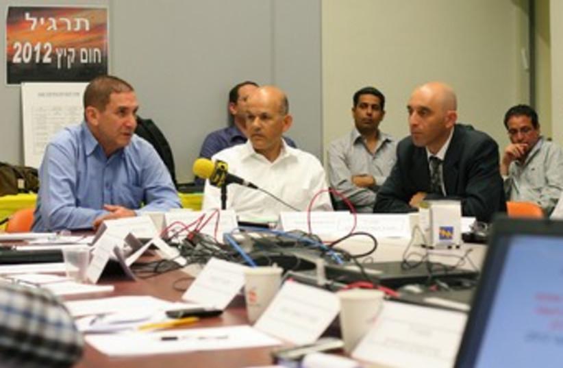 IEC electricity shortage exercize 370 (photo credit: Yoav Bachar)