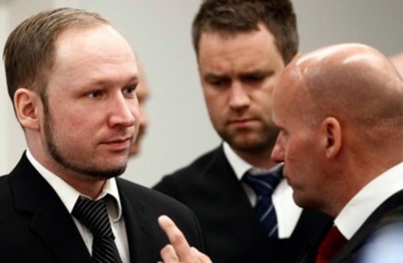 Breivik 370 (photo credit: REUTERS)