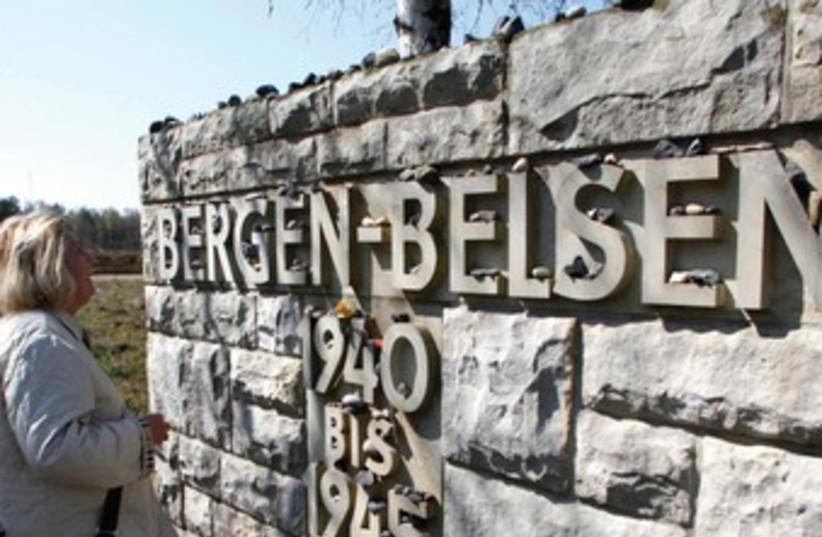 Site of Nazi concentration camp Bergen Belsen 370 (photo credit: Reuters)