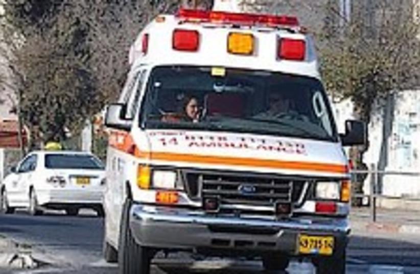 Ambulance 224.88 (photo credit: Ariel Jerozolimski [file])