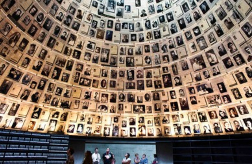 Yad Vashem Hall of Names (photo credit:  REUTERS/Nir Elias)