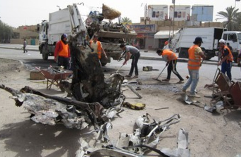 Iraq bomb 370 (photo credit: REUTERS/Saad shalash )