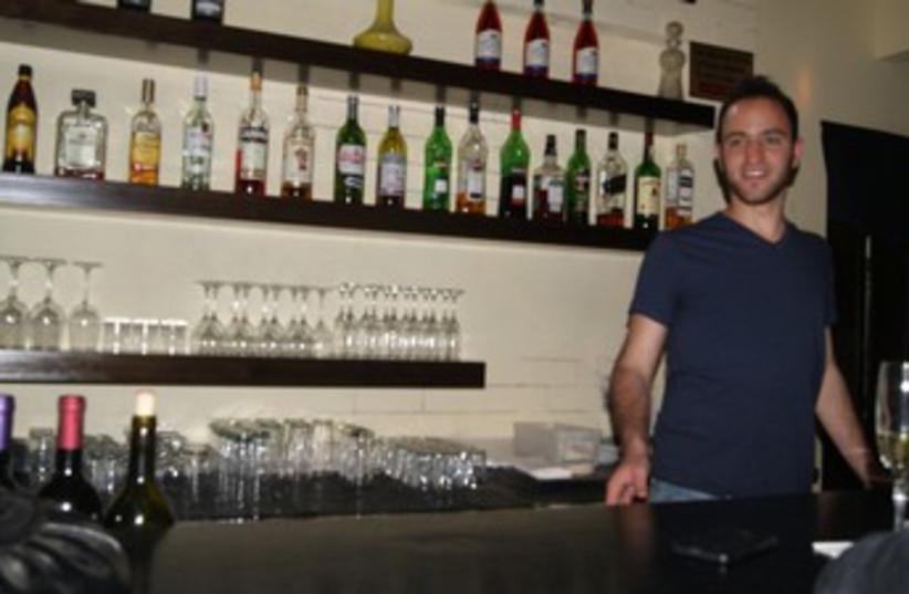 Barman at Josepha bar 370 (photo credit: Yoni Cohen)