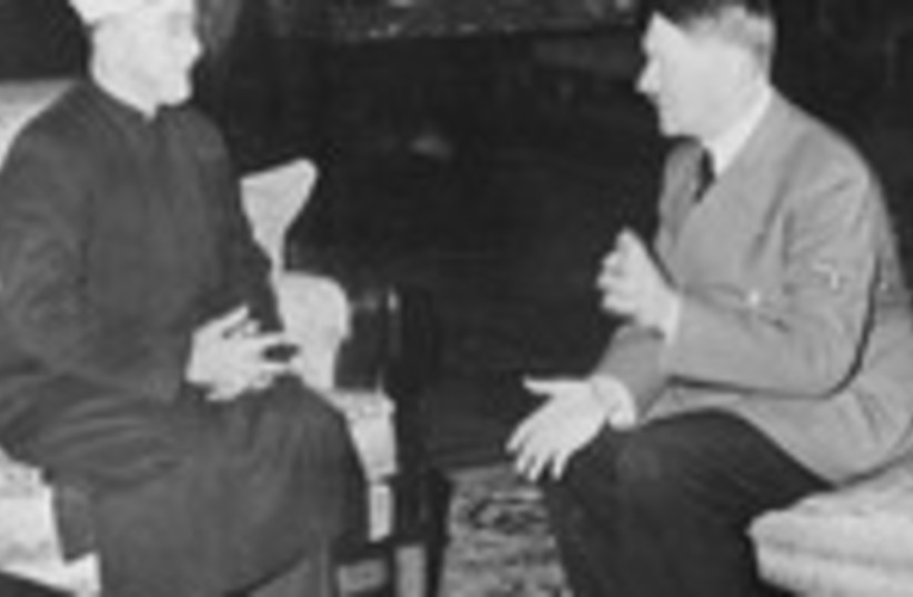 Palestinian Grand Mufti meeting with Hitler 150 (photo credit: German Federal Archive)