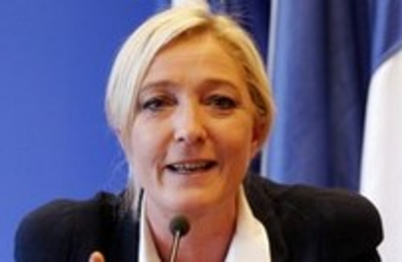 Marine Le Pen France National Front 300 (photo credit: REUTERS/Benoit Tessier)