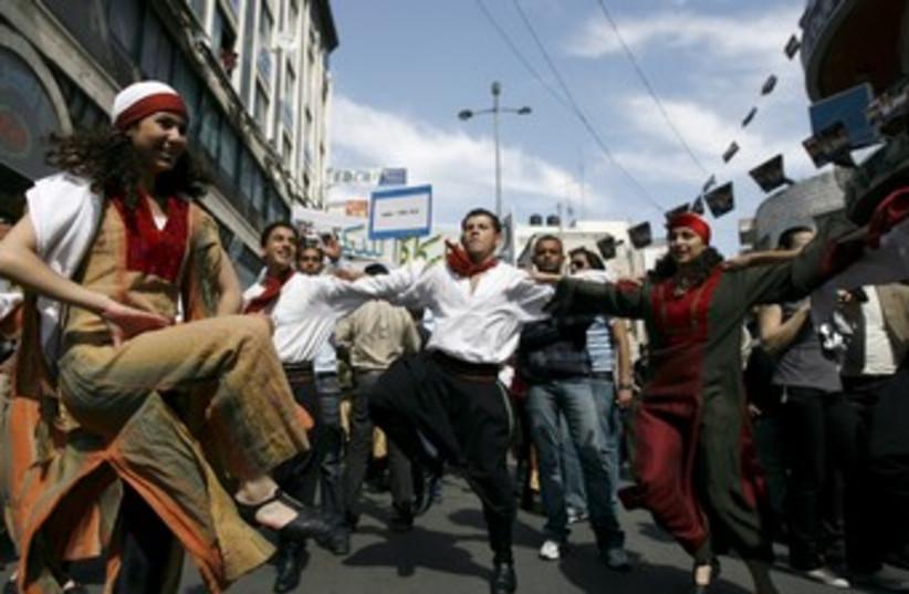 Ramallah dance festival 370 (photo credit: REUTERS)