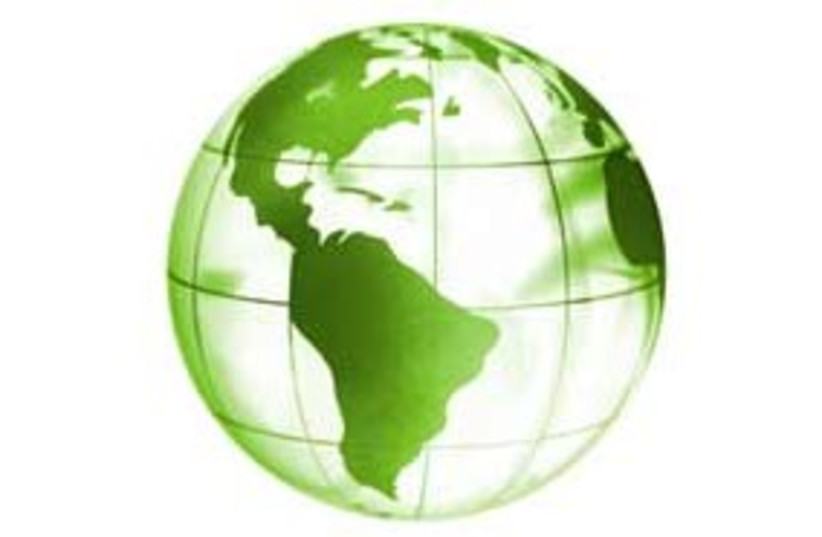 green globe311 (photo credit: Courtesy)