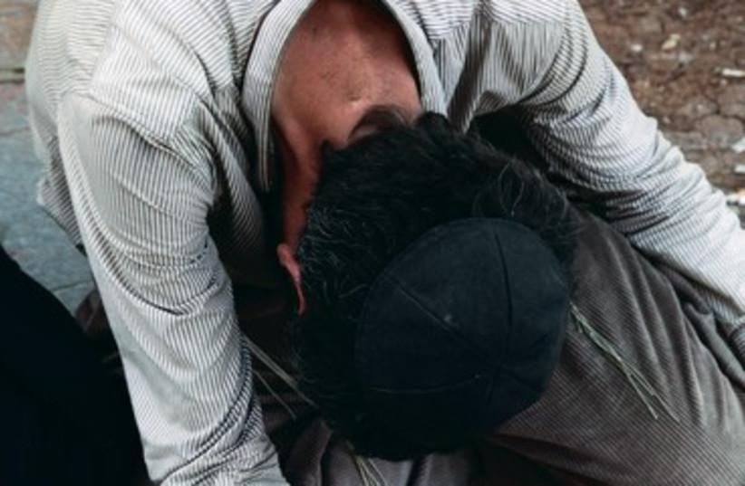 A beggar in Jerusalem 370 (photo credit: Marc Israel Sellem)