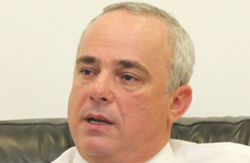 Finance Minister Yuval Steinitz 370 (photo credit: Marc Israel Sellem)